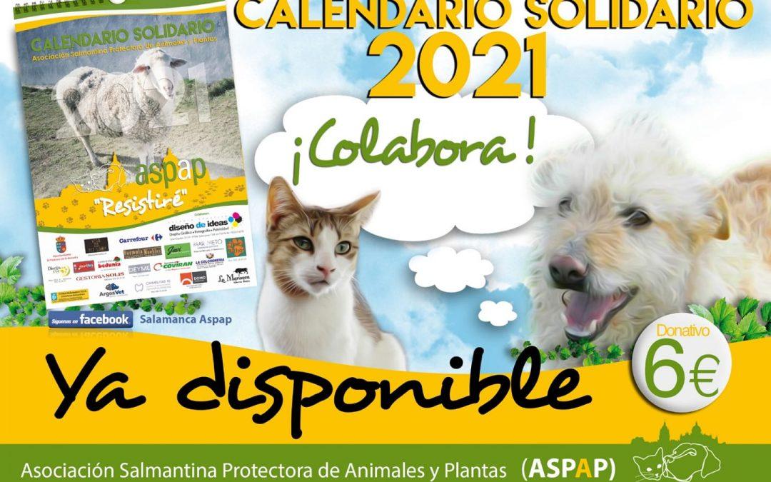 ¡¡YA TENEMOS NUESTRO CALENDARIO 2021!!